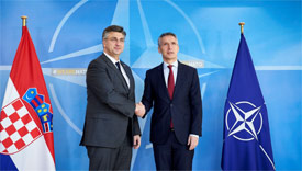 NATO Secretary General commends Croatia for Support to Euro-Atlantic aspirations of Balkan Neighbours