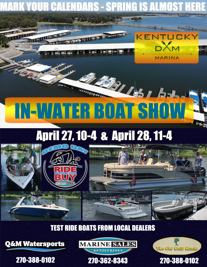 Join US for our First IN WATER BOAT SHOW