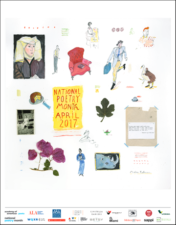 2017 National Poetry Month Poster