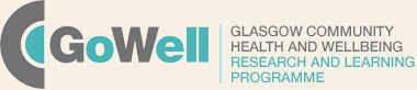 GoWell - Glasgow community health and wellbeing research and learning programme